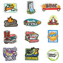 3M Self-adhesive English Alphabet Patches for Jean Jacket Applications for Clothes Stickers Sewing Accessories Shoe Badges @A(China)