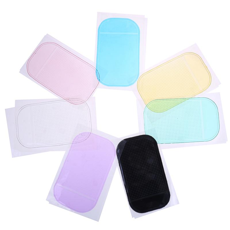 14*8.5cm Holder Magic Dashboard Silicone Anti Non Slip Mat car accessories Car Gadget Styling Sticky Gel Pad Accessories Phone gadget