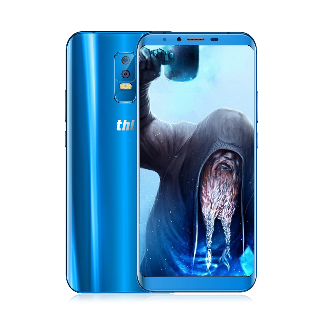 THL Chevalier 2 4g Smartphone Android 7.0 6.0 pouce MTK6750 Octa Core 4 gb RAM 64 gb ROM 13.0MP + 5.0MP Caméras D'empreintes Digitales Scanner