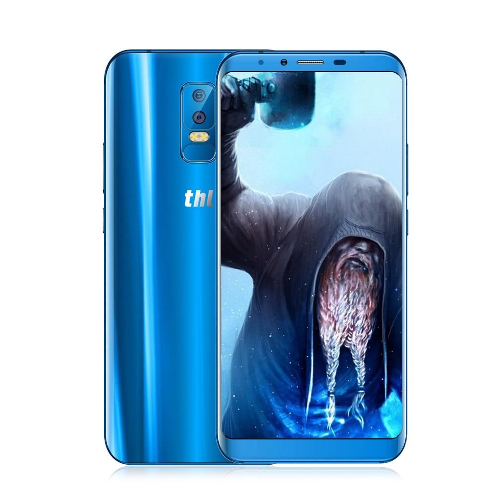 THL Ritter 2 4G Phablet Android 7.0 6,0 Zoll MTK6750 1,5 GHz OctaCore 4 GB RAM 64 GB ROM 13.0MP + 5.0MP Dual Hinten Kameras Fingerprint