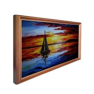 Image 2 - LCD screen 32 inch digital signage wooden frame digital advertising screens digital photo album