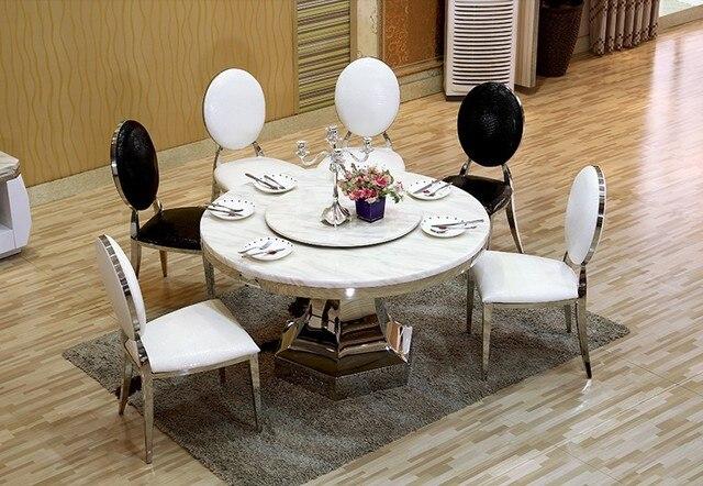 Diseño moderno comedor sillas de cuero elegante 2015 nuevo no sillón ...