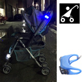 4Pcs Security Alert Baby Stroller Light Outdoor Night Remind Lights Waterproof LED Flash Baby Safe Care Caution Lamp