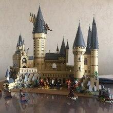 Лепин Совместимость Legoing 16060 Гарри Magic Potter Хогвартс замок школьный комплект строительные блоки кирпичи игрушка модель шт. 6742 шт. подарок
