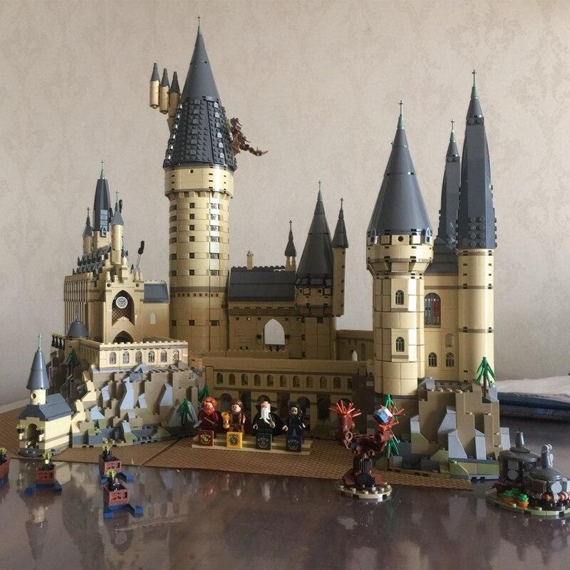 Lepin Compatible Legoing 16060 Harry Potter Magique Poudlard Château L'école Kit Building Blocks Briques Jouet Modèle 6742 pcs Cadeau