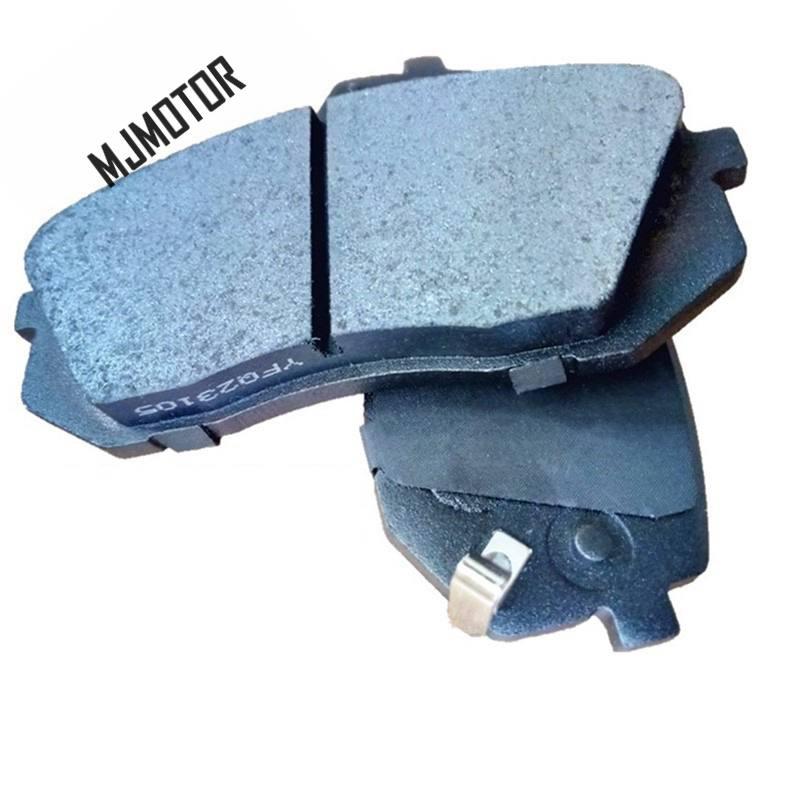 (4 pièce/ensemble) jeu de plaquettes de frein avant KIT-FR frein à disque pour Hyundai IX35 SUV KIA Cadenza Sportage Auto voiture moteur partie 581013RA00 - 5
