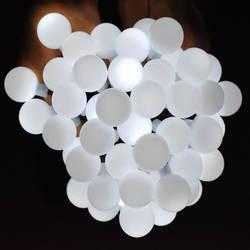 Солнечные лампы наружные струнные огни светодио дный 20 светодиодный шар водостойкий Рождественский Глобус лампа Звездная Фея свет для