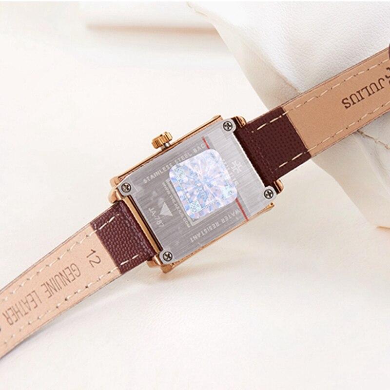 Top oryginalny JULIUS 787 kobiety moda casual zegarek kwarcowy panie - Zegarki damskie - Zdjęcie 4