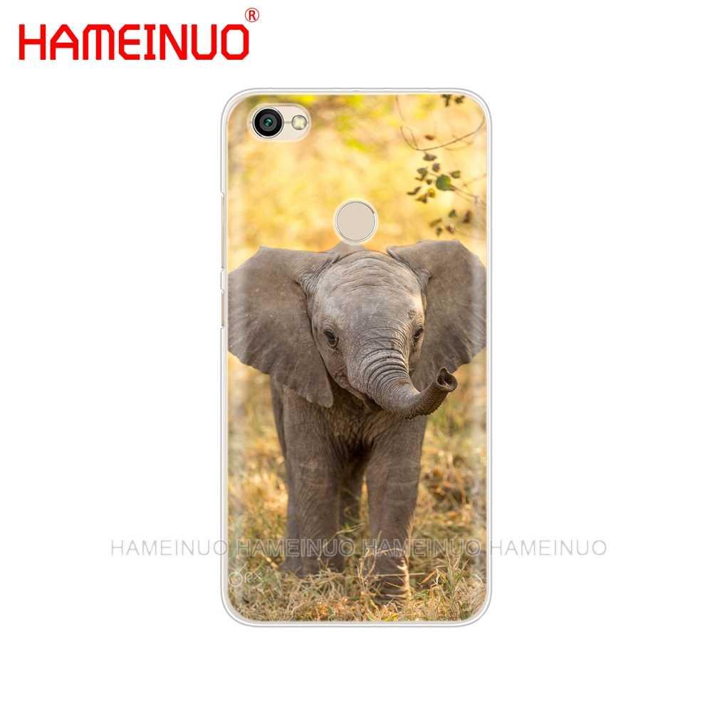 HAMEINUO милый мультяшный слон и чехол с кроликом для телефона Xiaomi redmi 5 4 1 1 s 2 3 3 s pro PLUS redmi note 4 4X 4A 5A