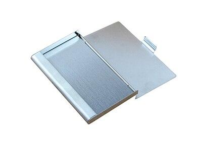 aluminum Metal Fine Box Holder Pocket Business ID Credit Card Case