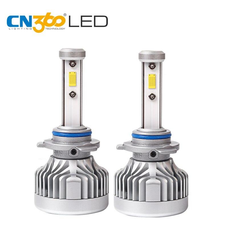 CN360 2 PCS 9005 HB3 10000Lumens CITIZEN Led Chips Headlight Lamp 60W   6000K 12V  LED Car Bulb 2 w p w v p10000 10000 waka ddc12