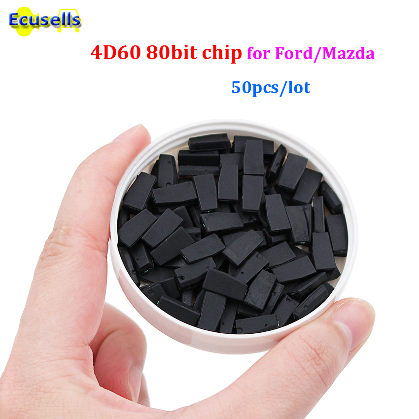 50pcs lot ID4D 60 4d60 80bit blank Transponder Chip GOOD QUALITY Wholesale virgin chip for Toyota