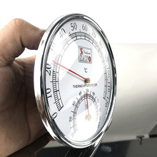 Sauna Thermometer Stainless  Hygrometer  the  accessories for sauna цена