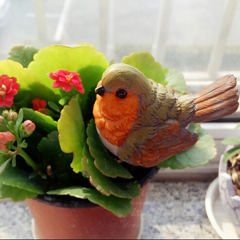 Aliexpress.com: Acheter Jardin résine sourire champignons figurine ...