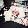 Minnie Mickey Das Mulheres Carteiras Saco Bolsa de Couro Bolsa Das Senhoras Saco de Embreagem Carteira Bolsa Feminina Bolsas Femininas Billeteras
