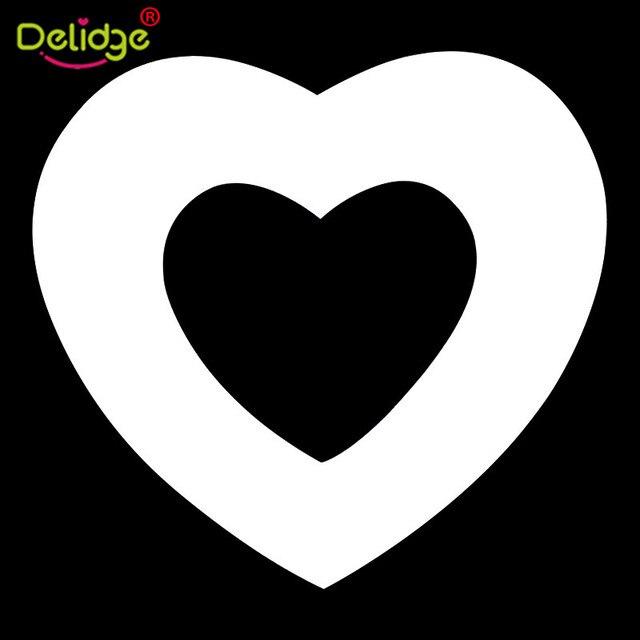 Delidge 9 pz/set Numeri Muffa Della Torta di Plastica Di Compleanno di Nozze FAI DA TE bella Decorazione Strumenti di Cottura Della Torta