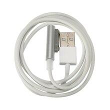 1 шт. Магнитный usb-кабель для зарядки SONY Xperia Z3 Compact Z3 Mini Z2 Tablet Z1 XL39h L55H L50T L55W 1 м провод черный серебристый