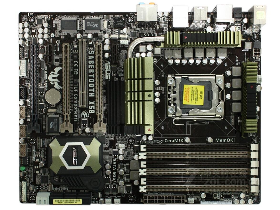 SaberTooth X58 LGA 1366 DDR3 for Core i7 Extreme / Core i7 24GB Desktop motherboard