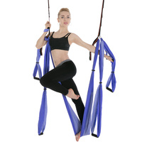 Anti Gravity Aerial Yoga Hammock Swing Indoor Decompression Hanging Hamac Elastic Exercise Keep Better Health Relax