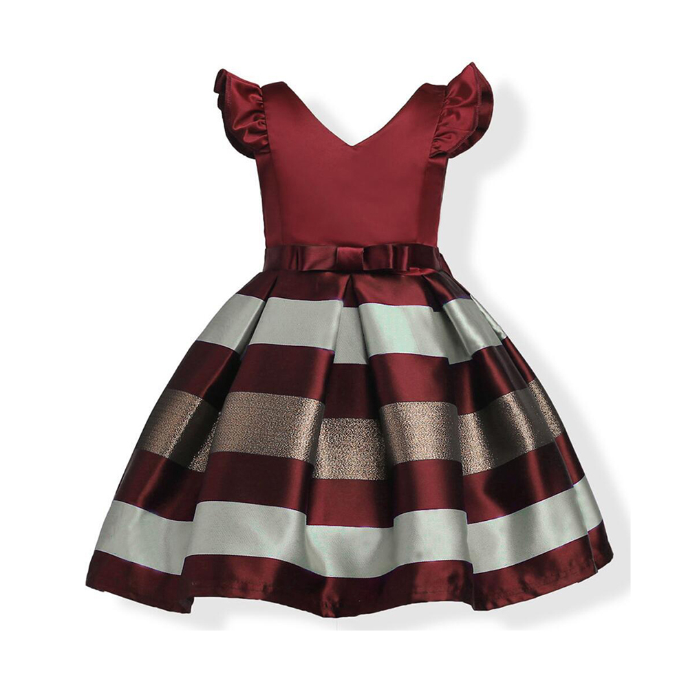 Brand Princess Dresses Girls Dress For Kids Girl Ball Gown Children Clothing  Cute Baby Girl Clothes For Kids Party YCPD1801 2 d830eb0d4808