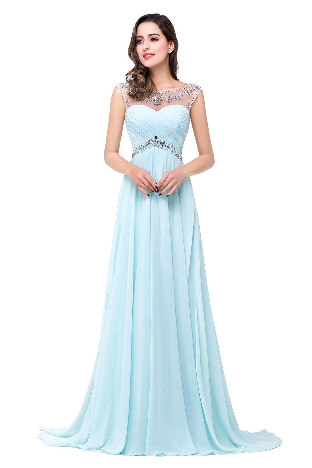 3ec46d87a5a Cheap Price Under 50 100% Real Samples In Stock 2015 Cap Sleeve Beaded  Chiffon Prom Dress Floor Length Long Evening Party Dress-in Prom Dresses  from ...