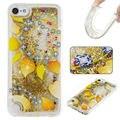 Caso Para ipod touch 6 5 Urso Borboleta Areia Movediça Estrelas do Glitter líquido Claro Macio TPU Capa Para ipod touch 6 5 Telefone casos