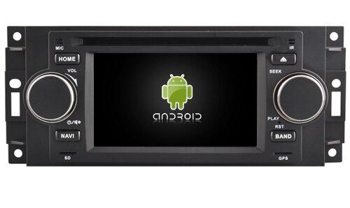 Android6.0 quad core 1024*600 car dvd stereo radio gps 4G headunit for Jeep Cherokee Compass Commander Wrangler <font><b>Chrysler</b></font> C300