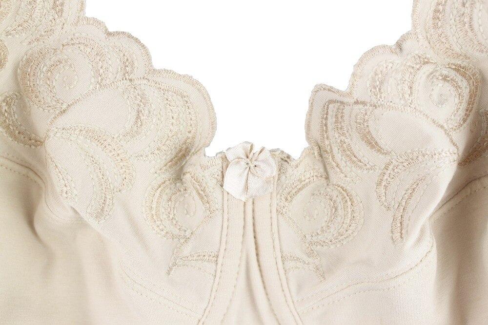 Mierside 1053A размера плюс бюстгальтер без подкладки нижнее белье большого размера без косточек нижнее белье для женщин с косточками 36-46 C/D/DD/DDD/E/F/G