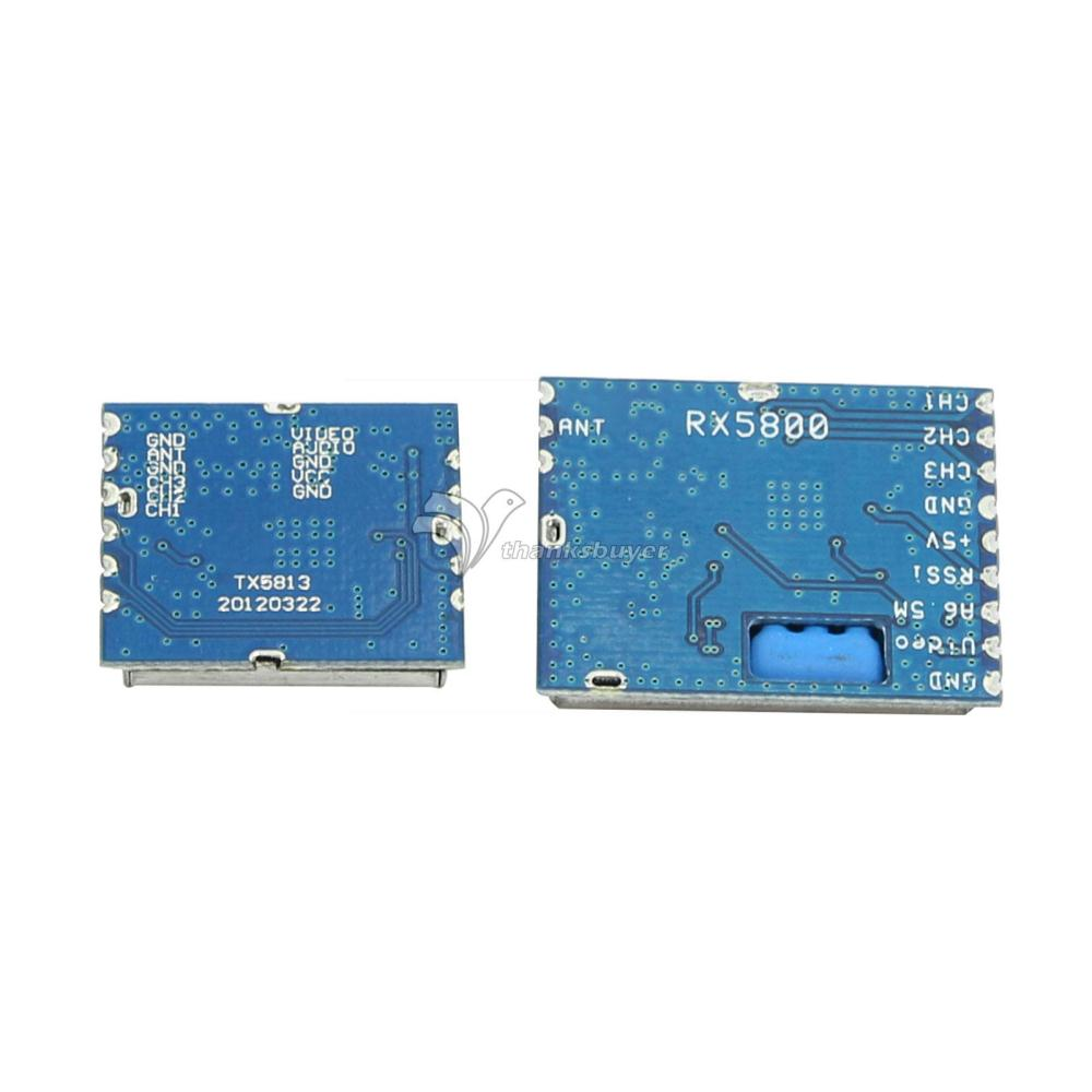 5 8G 20mw Wireless AV Transmitter Module 5 8G Video AV Receiver Set for FPV System