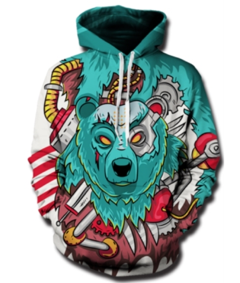 2017 Fashion Hoodies Men 3d Print Sweatshirt Men's Sweatshirts Men/women's Harajuku Hoody Hip Hop Outwear Hoodie