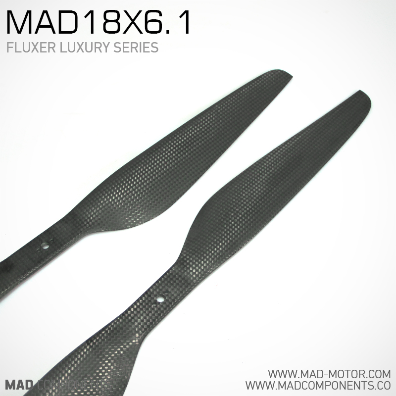 MAD18X6 1Pro Fluxer CF propellers for brushless motor font b Drone b font UAV Quadcopter Hexcopter