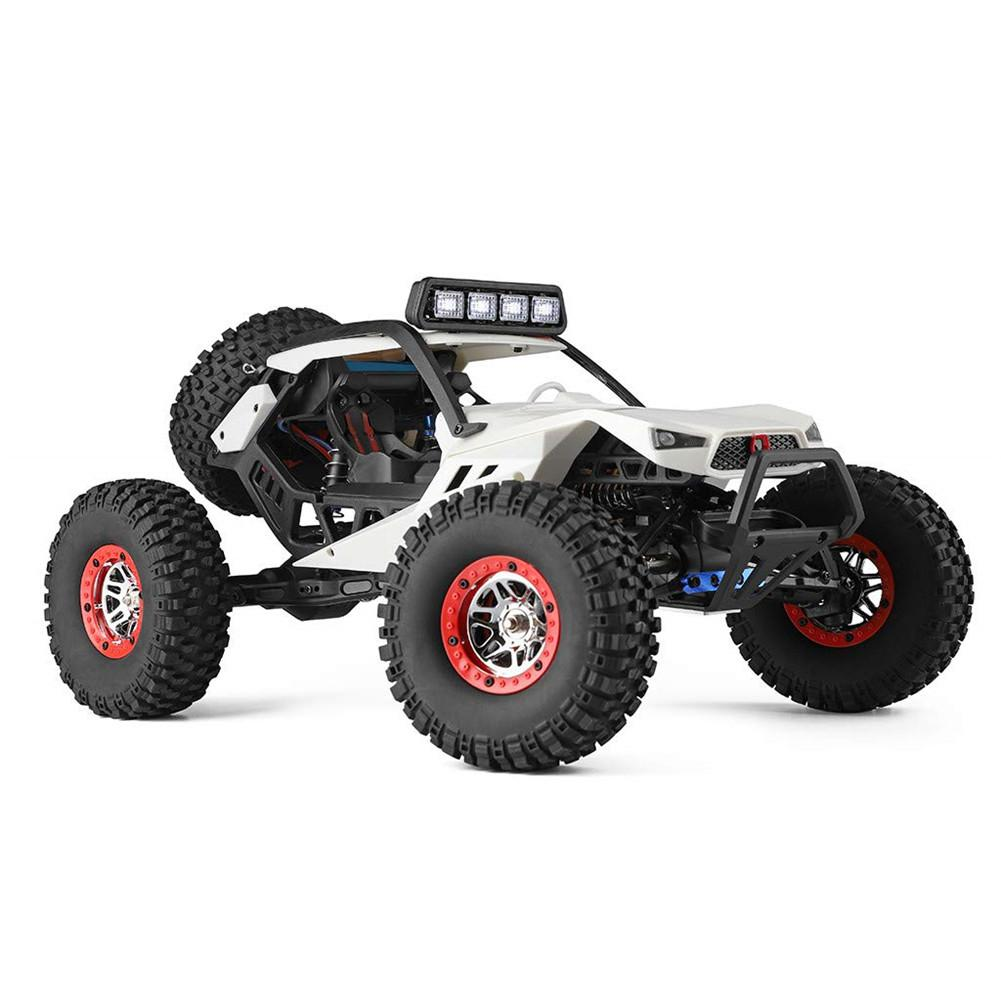 RCtown Wltoys 12429 4WD 1/12 Electric Climbing High-speed Off-road Vehicle Simulation Car Remote Car image