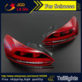 Car Styling tail lights for VW Scirocco LED Tail Lamp rear trunk lamp cover drl+signal+brake+reverse
