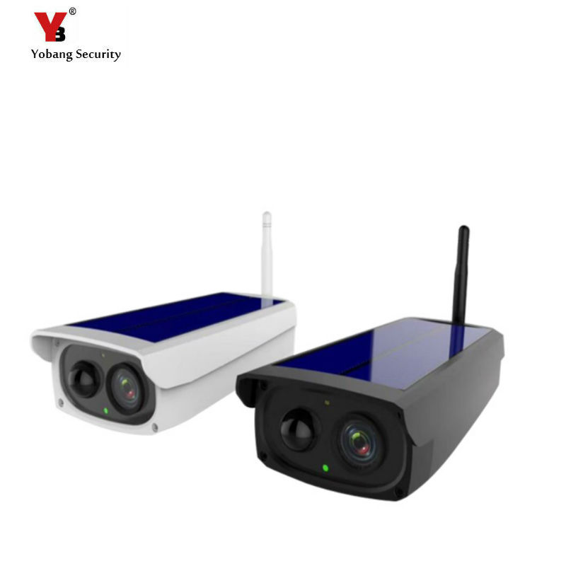 Yobang Security 1080P Solar Camera Power Waterproof font b Outdoor b font Security Camera With Night