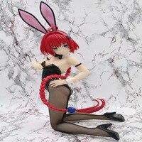 Anime To LOVE DARKNESS Kurosaki Meia Yuuki Mikan Action Figures To Love ru Pregnant Bunny Girl Figures PVC Collection Model Toys