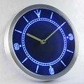 Nc-тм Пользовательские Неоновые Вывески Led Часы Неоновые Часы