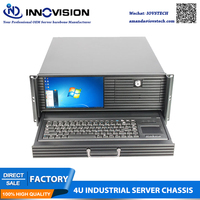 High performance 4U case with LCD screen Item NO:RC450C 4U workstation
