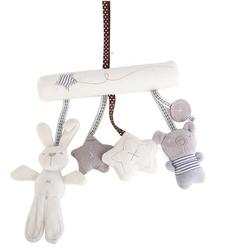 Rabbit baby music hanging bed safety seat plush hand bell multifunctional plush infant toy stroller mobile.jpg 250x250