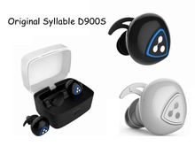 NEW Original Syllable D900S Earphone Wireless Bluetooth4.0 Apt-x IPX4 Waterproof Earbud Earphone Sports For Android Phone IOS