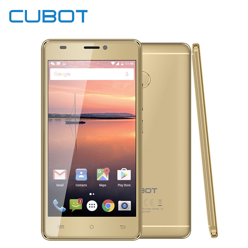 In Stock Cubot H3 4G LTE Unlock Dual Sim Smartphone 5 0 Inch 3G 32G Mobile