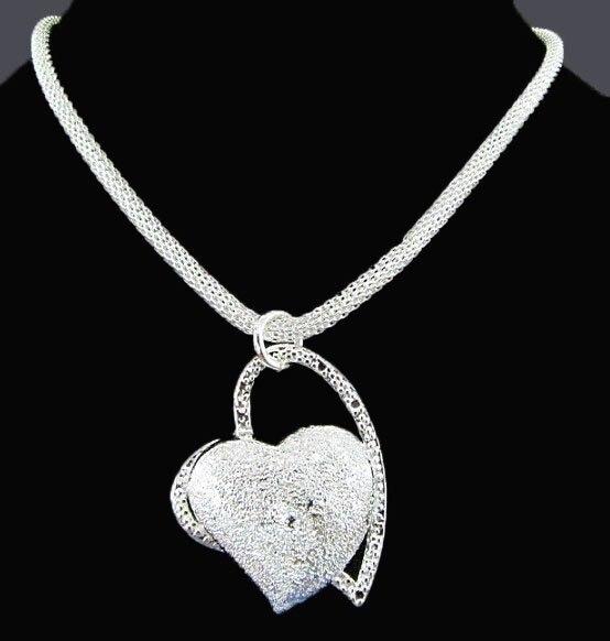 Стерлингового Серебра 925 Ожерелье Бесплатная Доставка Brand New One Пк RM13
