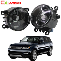 Cawanerl For 2006 2013 Land Rover Range Rover Sport LS Closed Off Road Vehicle Car Fog Light Lampshade + LED / Halogen Lamp 12V