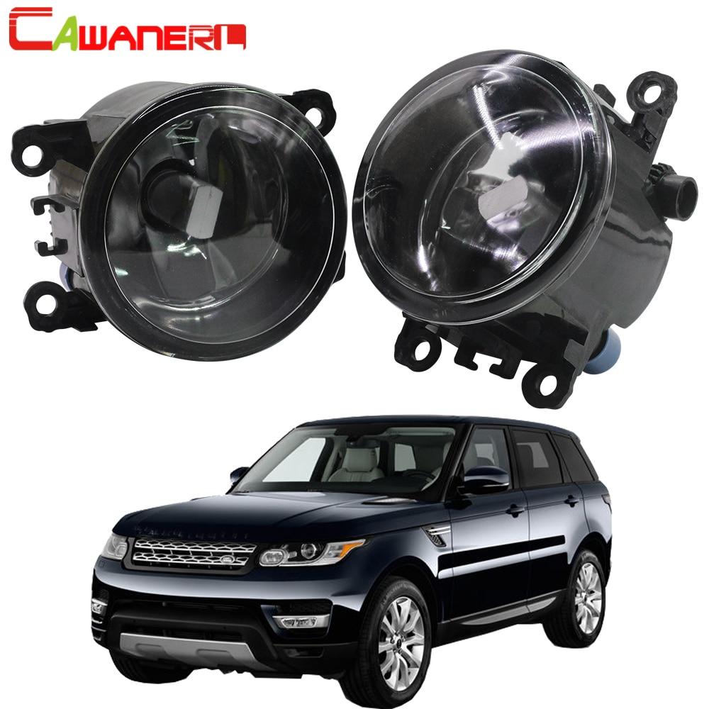 Cawanerl For 2006 2013 Land Rover Range Rover Sport LS Closed Off Road Vehicle Car Fog Light Lampshade + LED / Halogen Lamp 12V