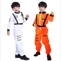 Halloween cosplay children's day performance costume birthday gift astronaut pilot child space role playing costume
