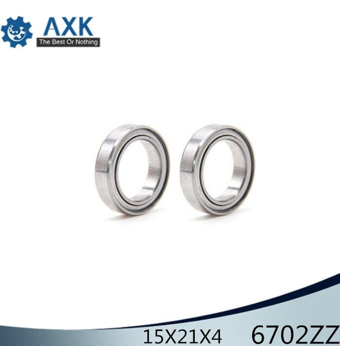 Metal Shielded Ball Bearing Bearings 6702z 15*21*4 6702ZZ 50 PCS 15x21x4mm