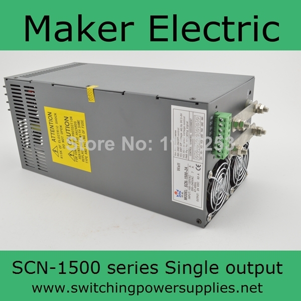 CE Approved Switching Power Supply 48V 32A 1500W SCN-1500-48 Built-in Remote ON - / OFF Control built in remote on off control and remote sense function scn 800 12 220v 12v transformer led