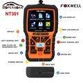 2017 new arrival foxwell nt301 obdii motor ferramenta de diagnóstico leitor de código de falha do scanner automotivo com sensor de o2 frete grátis