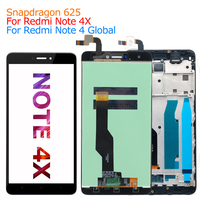 100 New MI Note 4x LCD Display Digitizer Touch Screen Assembly Replacement For Xiaomi Redmi Note