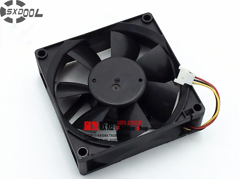 SXDOOL MMF-08C24ES-RM1 80mm 8cm 24V 0.16A Inverter Fan,Server Fan,Cooling Fan fuji inverter fan mmf 09d24ts fba09a24h