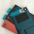 Стекло оригинала Задняя Крышка Батареи Для Sony Xperia Z5 Compact Z5 мини E5803 Телефон Сзади Дело Жилищного Замена + Логотип черный красный
